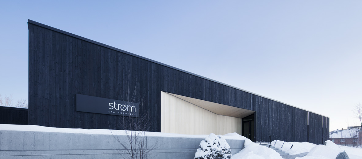 strom spa sherbrooke architecture design by lemaymichaud