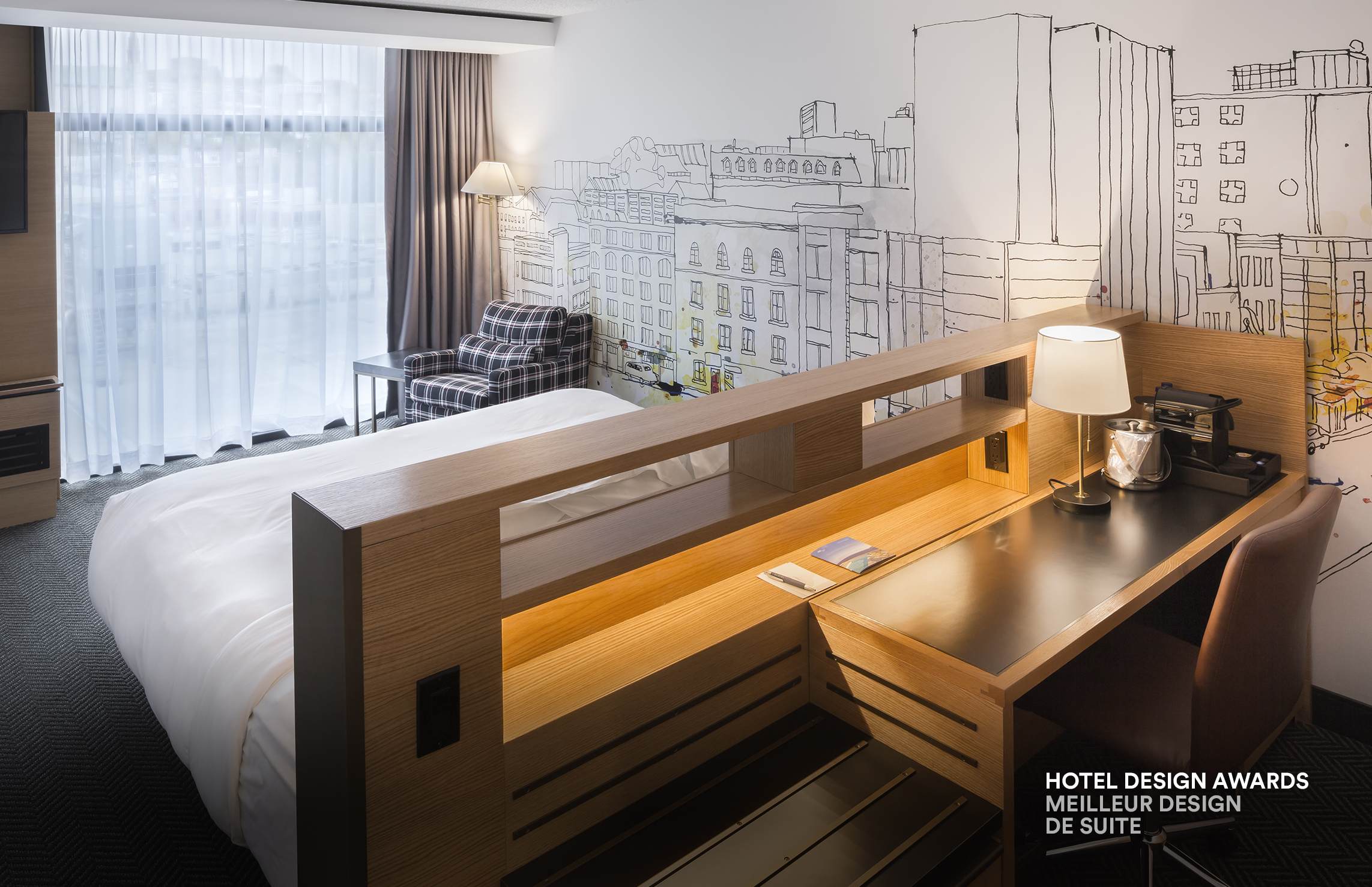 Hotel design awards hotelier magazine lemaymichaud y for Design hotel awards
