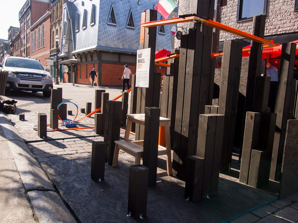 LEMAYMICHAUD parking day québec 2019